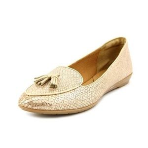 Sofft Bryce Gold Loafers (Size 9 comfort shoe)